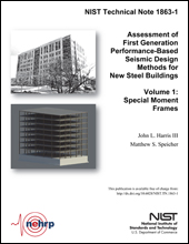 Assessment of First Generation Performance-Based Seismic Design (PBSD) Methods for New Steel Buildings (NIST TN 1863)
